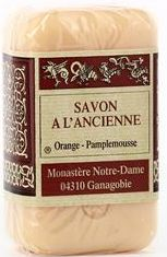 Savon à l'ancienne Orange-Pamplemousse. 150g.