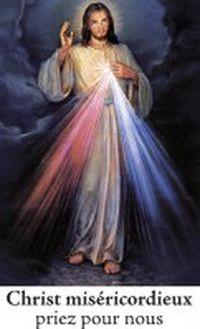 Autocollant Christ Miséricordieux