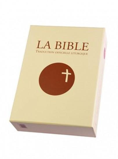 La Bible Traduction officielle liturgique