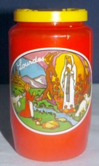 Veilleuse Notre Dame de Lourdes