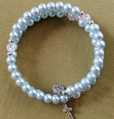 Bracelet  perles 2 rangs