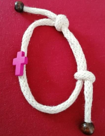 Bracelet corde laine