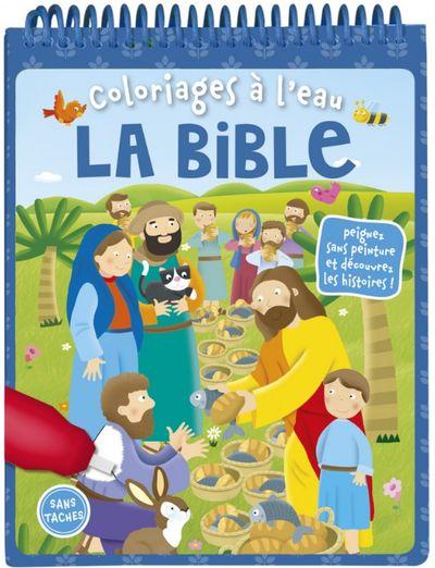 Coloriages à l'eau - La Bible