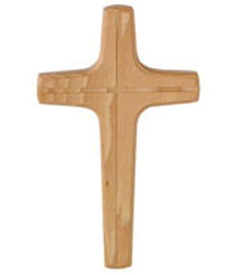 Croix murale en bois massif