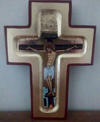 Icône  bysantine Croix