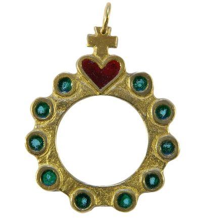 Dizainier Sacré Coeur pendentif
