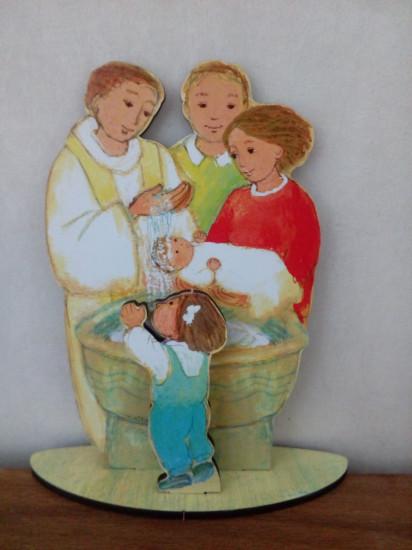 Figurine : Le Baptême