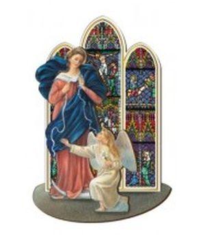 Figurine : Marie qui défait les noeuds