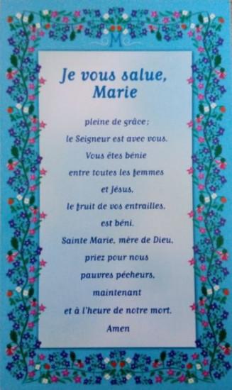 Image «Je vous salue Marie»