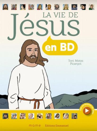 La vie de Jésus en BD livre broché