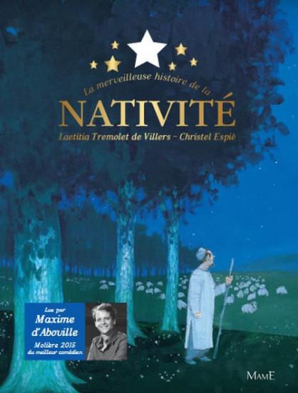 La merveilleuse histoire de la nativité. Livre CD