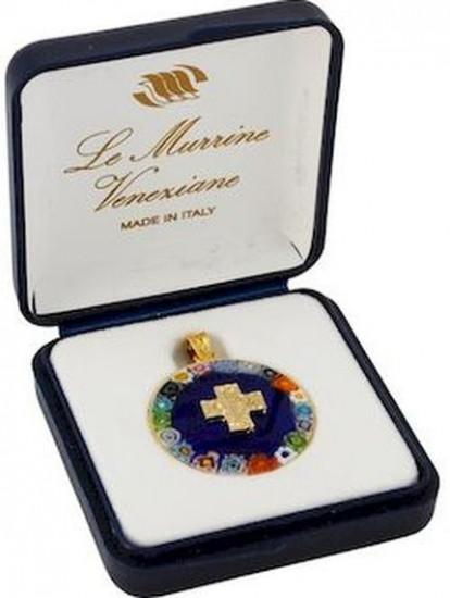 Médaille Alpha Oméga Murano