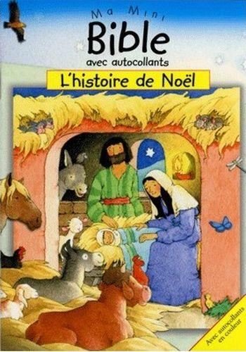 Ma mini Bible autocollants : L'Histoire de Noël