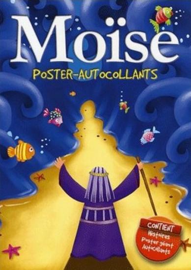 Moïse. Poster et autocollants