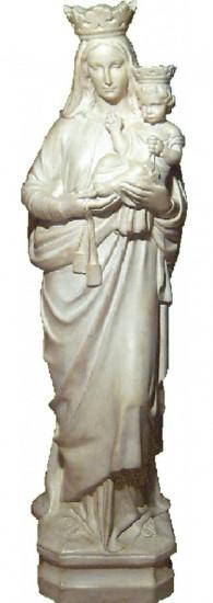 Notre Dame du Mont Carmel 82 cm. Extérieur