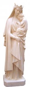Statues Vierge et Vierge à l'Enfant