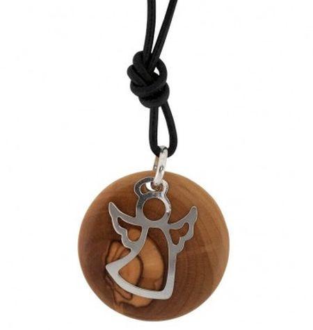 Collier pendentif ange Bethléem