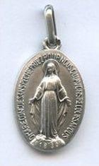 Médaille miraculeuse en argent.