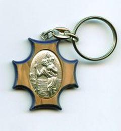 Porte-clé saint Christophe