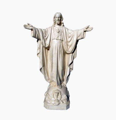 Sacré Cœur de Cassino. 27 cm