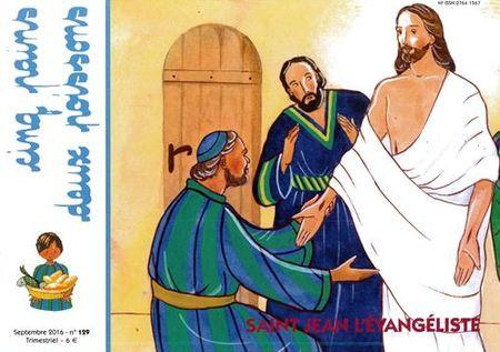 Saint Jean l'Evangéliste 6/9 ans