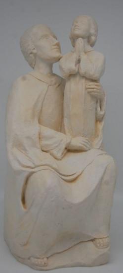 Saint Joseph et Jésus 34 cm