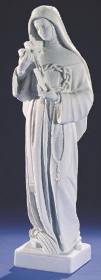 Sainte Rita. 2 tailles. Marbre reconstitué