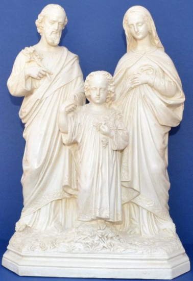Sainte famille de Nazareth 32 cm