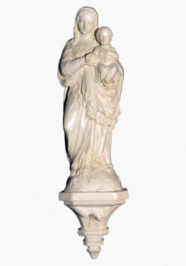 Vierge avec Jésus au chapelet 12,5 cm