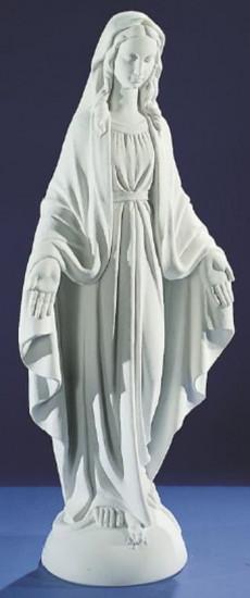 Vierge Miraculeuse. 2 tailles. Marbre reconstitué