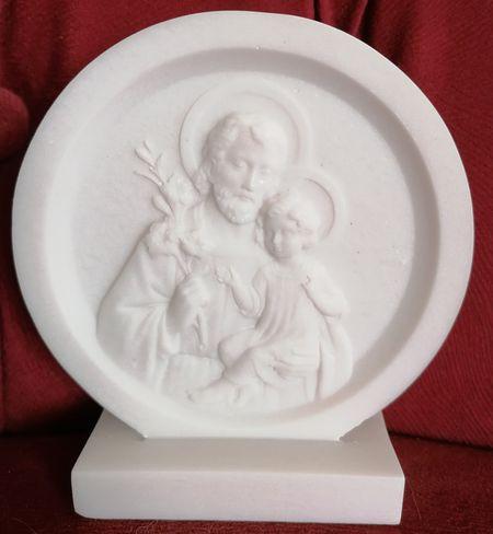 Bas relief saint Joseph