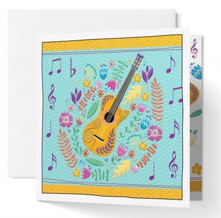 Carte double : Guitare