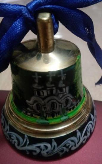 Cloche en bronze  «soldée»