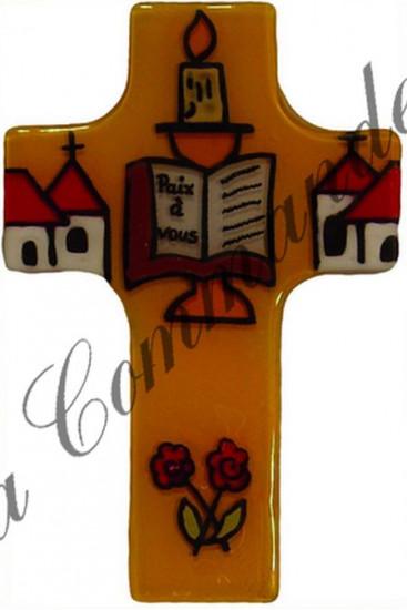 Croix en verre