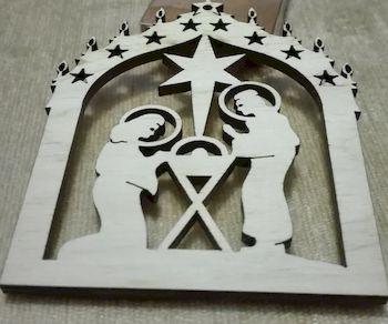 Décoration Noël sainte Famille