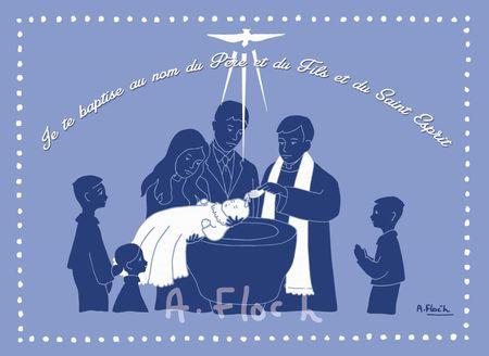 Image baptême