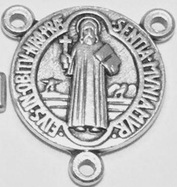 Médaille de chapelet Saint Benoît. Lot de 10