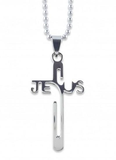 Collier pendentif Jésus