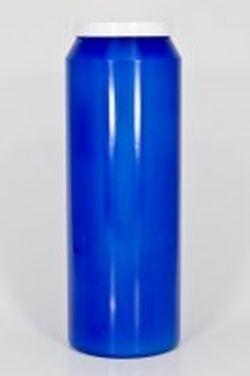 Bougie de neuvaine bleue. Lot de 12.