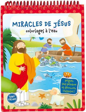 Miracles de Jésus - Coloriages à l'eau
