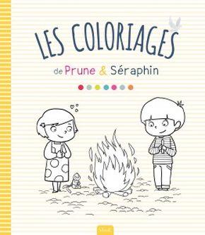 Les coloriages de Prune et Séraphin
