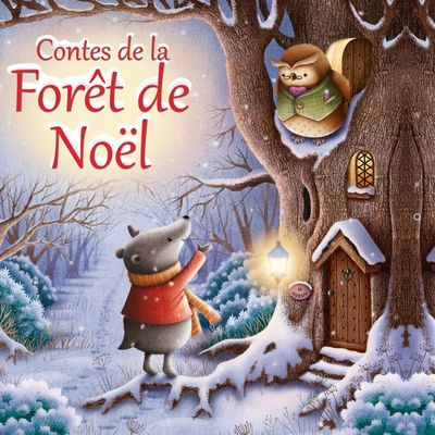 Contes de la forêt de Noël: livres d'activités