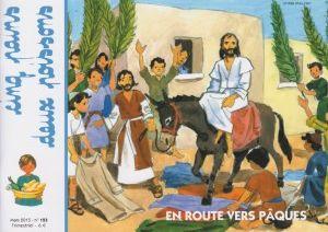 En route vers Pâques.