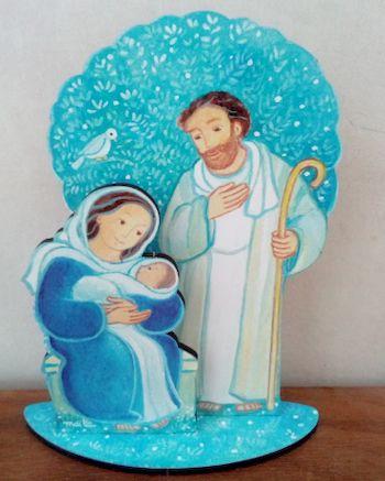 Figurine : La Sainte Famille