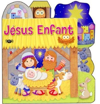 Jésus enfant (livre cartonné à onglets) Noël