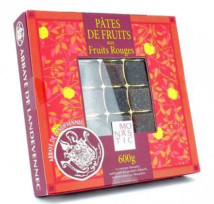 Pates de fruits aux fruits rouges