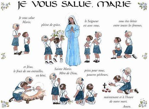 Poster Je vous salue Marie