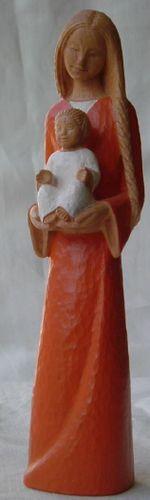 Statue Yves le Pape Marie de l'Accueil. Hauteur 25 cm.