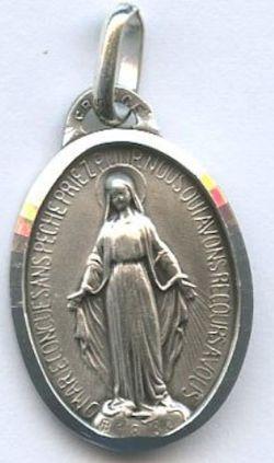 Médaille argent. Vierge Miraculeuse