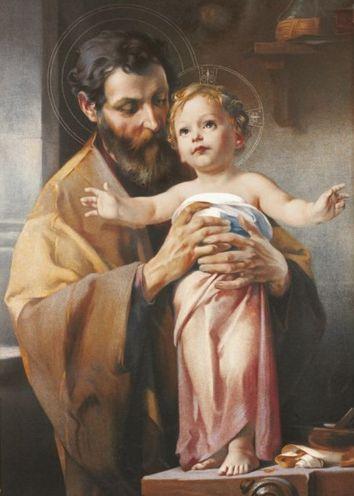 Icône de saint Joseph. 3 tailles.